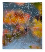 Autumn Web Fleece Blanket