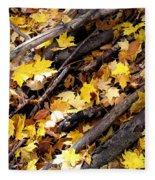Autumnal Melody Fleece Blanket