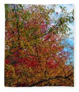 Autumns Beauty Fleece Blanket