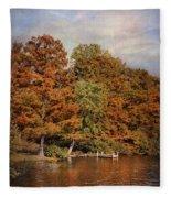 Autumn's Edge Fleece Blanket