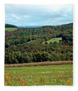 Autumns First Blush Fleece Blanket