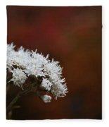 Autumn's Own Snow Fleece Blanket