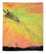 Autumn's Pastel Pallet Fleece Blanket