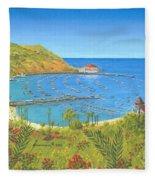 Avalon Catalina Island Fleece Blanket