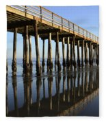 Avila Beach Pier California 2 Fleece Blanket