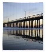 Avila Beach Pier California 3 Fleece Blanket