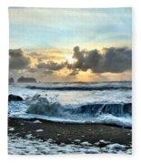 Awash In The Sea Fleece Blanket
