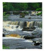 Aysgarth Falls Wensleydale Fleece Blanket
