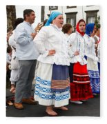 Azorean Folk Music Group Fleece Blanket