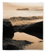 Azores Islands Seascape Fleece Blanket