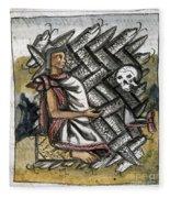 Aztec: Life And Death Fleece Blanket
