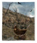 Baby Buggy In Wilderness Fleece Blanket