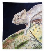 Baby Chameleon Fleece Blanket