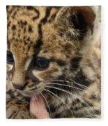 Baby Jaguar Fleece Blanket