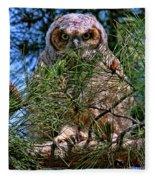 Baby Owl Fleece Blanket