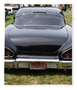 Backside Of An Impala Fleece Blanket