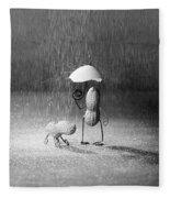 Bad Weather 01 Fleece Blanket