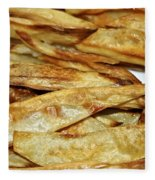 Baked Potato Fries Fleece Blanket