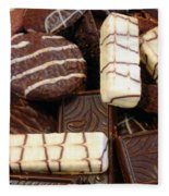 Baker - Who Wants Cookies Fleece Blanket