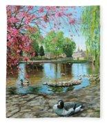Bakewell Bridge - Derbyshire Fleece Blanket