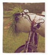 Bali Bike Fleece Blanket