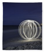 Ball Of Light Marco Island Beach Fleece Blanket