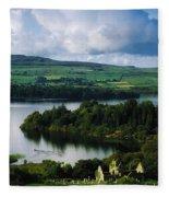 Ballindoon Abbey, Lough Arrow, Co Fleece Blanket