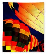 Balloon Glow 1 Fleece Blanket