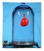 Balloon In A Vacuum, 1 Of 6 Fleece Blanket