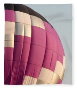Balloon-purple-7462 Fleece Blanket