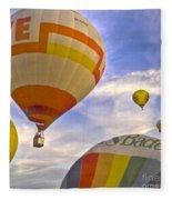 Balloon Ride Fleece Blanket
