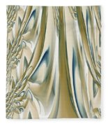 Ballroom Gown Fleece Blanket