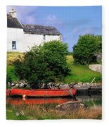 Ballycrovane, Beara Peninsula, Co Cork Fleece Blanket