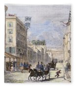 Baltimore, 1856 Fleece Blanket