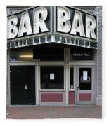 Baltimore Bar Fleece Blanket
