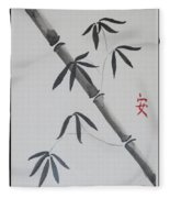 Bamboo Art Fleece Blanket