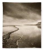 Bamburgh Castle Fleece Blanket
