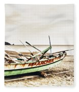 Banca Boat Fleece Blanket