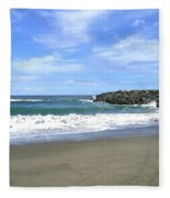 Bandon South Jetty Fleece Blanket