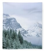 Banff National Park, Alberta, Canada Fleece Blanket