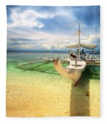 Bangka Sa Dagat Fleece Blanket