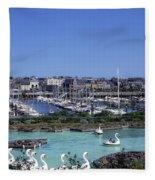 Bangor, Co. Down, Ireland Fleece Blanket