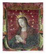 Banner Of Hernan Cortes Fleece Blanket