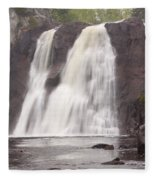Baptism High Falls 10 Fleece Blanket