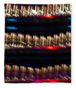 Bar Colors Fleece Blanket
