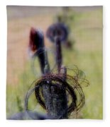 Barbed Wire Fleece Blanket