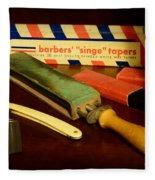 Barber - Keep The Razor Sharp Fleece Blanket