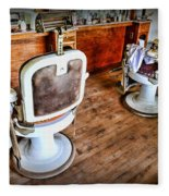 Barber - The Barber Shop 2 Fleece Blanket