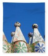Barcelona Impression 2 Fleece Blanket