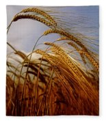Barley, Co Meath, Ireland Fleece Blanket